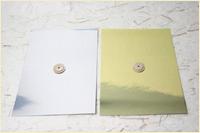 台紙の色:金/銀